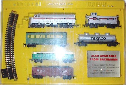 Bachmann Clear Case Train Set