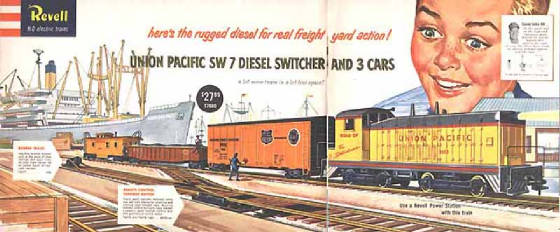 Revell HO-Scale Trains Resource