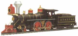 AHM 4-4-0 Baldwin American Steam Engine