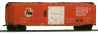 AHM 51ft. Plug Door Box Car