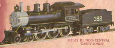 AHM Casey Jones Steam Engine