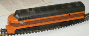 AHM Milwaukee Road C-Liner