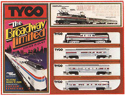 TYCO Broadway Limited Train Set