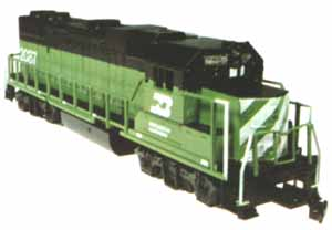 Life-Like GP-38-2 Burlington Northern