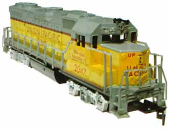 Life-Like GP-38-2 Union Pacific Low-Nose Version