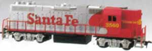 Life-Like Hi-Nose GP-38-2 Santa Fe