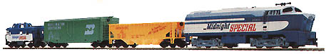 TYCO Midnight Special Train Set from 1979