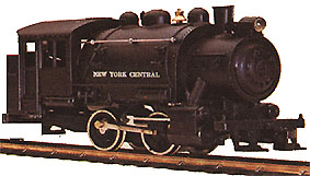 The Booster Special's 0-4-0 NYC Steam Loco