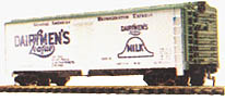 Dairyman's Reefer Car