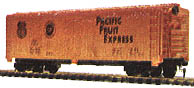 Pacific Fruit Express Reefer Car