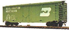 TYCO Burlington Northern 50ft. Box Car