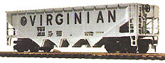 Hopper Car Virginian