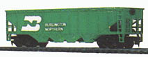 Hopper Car Burlington Northern