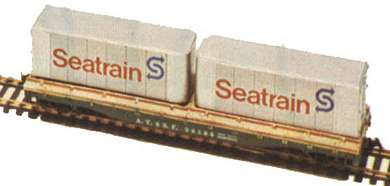 Container Flat Car