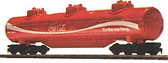 Triple-Dome Tank Car Coca-Cola
