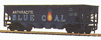 Billboard Hopper Car Blue Coal