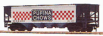 Billboard Hopper Car Purina Chows