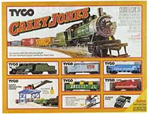 TYCO Casey Jones train set #7408