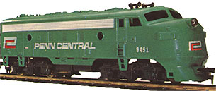 The Diesel Flyer's Penn Central F-9A
