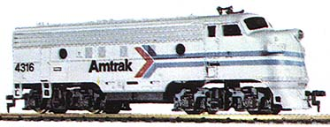 TYCO Amtrak F-9 from The Inter-City train set