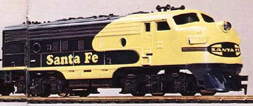 The Diesel Flyer's Santa Fe F-9A