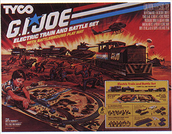 TYCO G.I. JOE Train Set from 1984