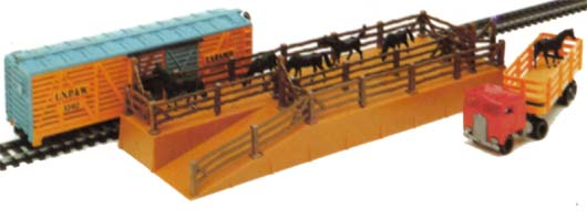 TYCO's Horse Car and Depot Set