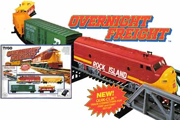 TYCO's Overnight Freight from 1993