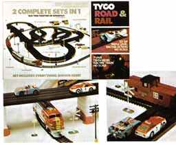 TYCO Road & Rail Set