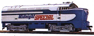 TYCO Midnight Special Shark Nose
