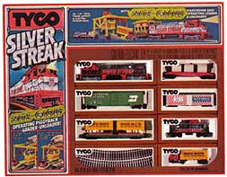 TYCO Silver Streak train set #7322