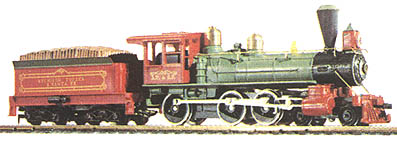 1890 Loco and Tender 4-6-0