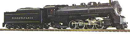 The Railroad Empire's Pennsy Mikado Steamer