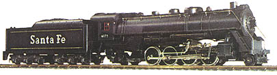Mikado 2-8-2 and Tender