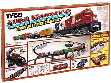 Tyco bicentennial ho train set reviews