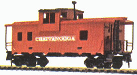 Caboose Chattanooga -Wide Vision Style