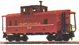 Caboose Chattanooga (2nd Version) -Wide Vision Style